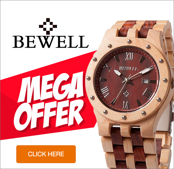 Bewell wood watches review