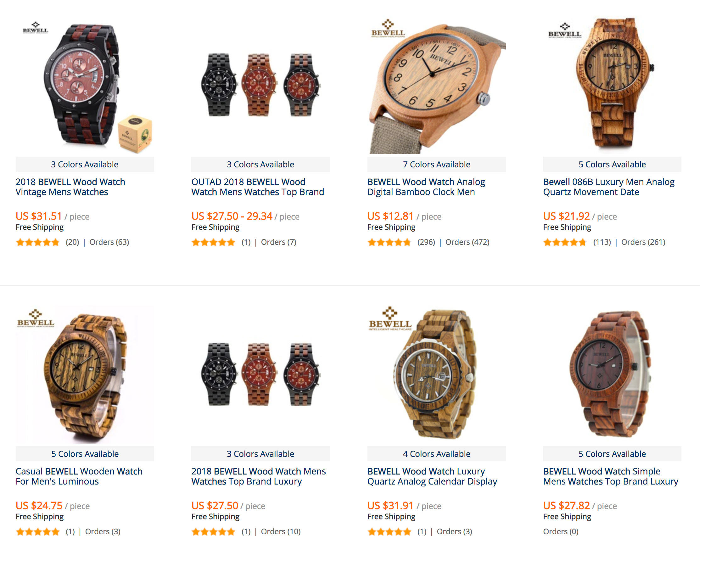 buy a wooden watch