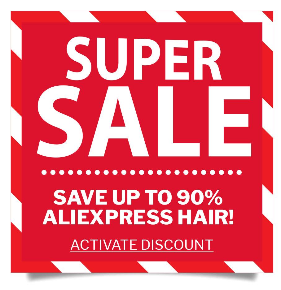 Super Sale on AlliExpress Hair & Wigs