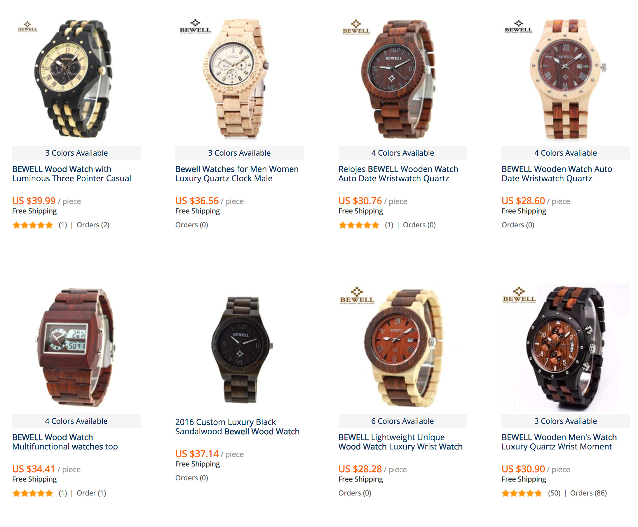 bewell wooden watches for men review